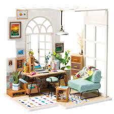 112 Scale Miniature White Fireplace Dollhouse Home Decor Furniture