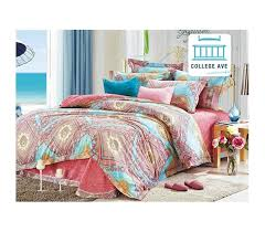 persian brush twin xl comforter set college ave designer series