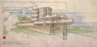 100 Frank Lloyd Wright Sketches For Sale 1867 1959 Was An American Architect