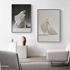 abstrakte linie leinwand schwarz weiß wand kunst