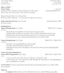 Resumes Examples For Jobs Resume Work Experience Job Sample High School Student Example Of