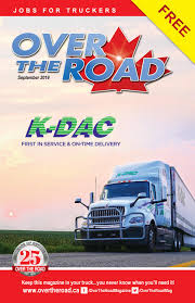 100 Dac Report For Truck Drivers Over The Road September 2019 By Over The Road Magazine Issuu