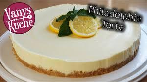 philadelphia zitronen torte kühlschranktorte ohne backen no bake rezept