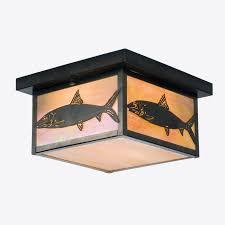 industrial rectangular flush mount ceiling lights modern ceiling