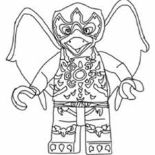 Lego Chima Picture Of Razar The Raven In Coloring Pages