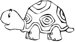 Coloring Pages Printable Turtle Animal Color Printouts Small Shells Unique Cool Design Picture Image