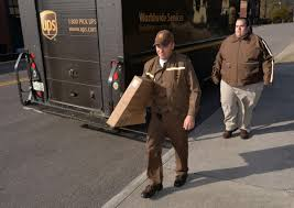 A Day In The Life Of A UPS Delivery Driver During Busiest Time Of ...
