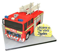 100 Fire Truck Cupcake Toppers Sheet Cake Campfire Pinata Birthday Supplies Topper Happy
