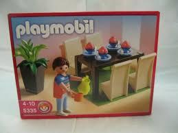 neu playmobil 5335 a schickes esszimmer aus 2010 in ungeöffneter ovp