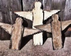Rustic Angels Handmade Yard Art Pallet Salvaged Wood Distressed Angel