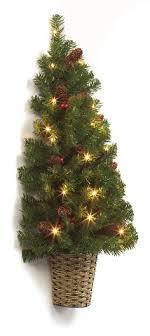 Half Christmas Tree Prelit Decor Inspirations