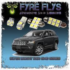 100 Led Interior Lights For Trucks White LED Interior Lights Package Kit For 20142018 Jeep Compass