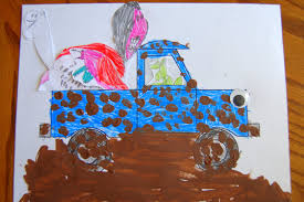 99 Truck Craft Story Time Little Blue With