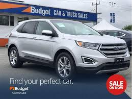 Used 2017 Ford Edge Titanium Edition, Very Low Mileage, Reliable For ...