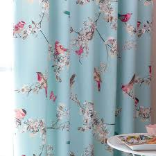Bendable Curtain Track Dunelm by Duck Egg Beautiful Birds Thermal Pencil Pleat Curtains Dunelm