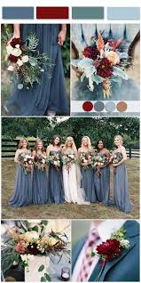 Dusty Blue Wedding Color Combos Inspired By 2017 Pantone