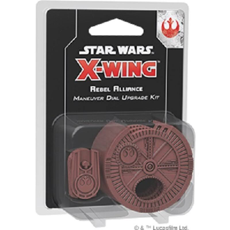 Asmodee X Wing Second Edition Rebel Alliance Maneuver Dial Upgrade Kit