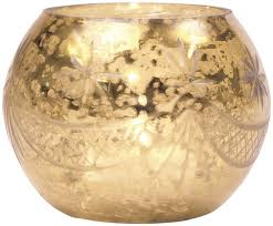 Gold Mercury Glass Bath Accessories by Amazon Com Luna Bazaar Best Of Vintage Mercury Glass Candle