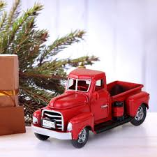 100 Vintage Trucks Amazoncom OurWarm Christmas Red 7in X 3in X 3in