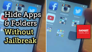 Hide Secret Apps in Invisible Folders on Your iPad iPhone iPod