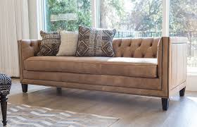 Small Corduroy Sectional Sofa by Norwalk Furniture
