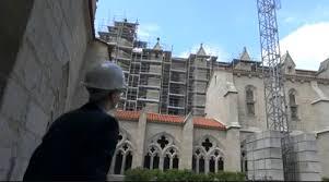 abbaye de la chaise dieu des travaux qui révèleront la grandeur de l abbaye de la chaise dieu
