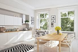 skandinavische küche im landhausstil für mehr natur zuhause