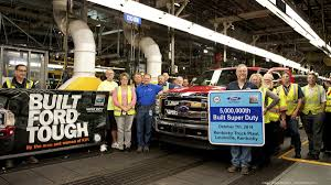 Ford Makes Its 5 Millionth Super Duty At Louisville Plant ... Ford Is Vesting 25 Million Into Its Louisville Plant To Make Hot Truck Plant Human Rources The Best 2018 Restart F150 Oput Following Supplier Fire Rubber And 5569 Apply For 50 Jobs At Pickup Truck Troubles Will Impact 2700 Workers Makes 5 Millionth Super Duty Kentucky Ky Lake Erie Electric Suspends All Production After Michigan Allamerican Pickup Trucks Aim Lure Chinas Wealthy Van Natta Shows Off Louisvillemade Dearborn Test Track Motor Co Historic Photos Of And Environs