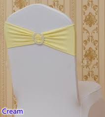 Diy Chair Sash Buckles by Cream Colour Wholesale Chairs Sash With Round Buckles For Chair