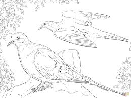 Gigantic Dove Cameron Coloring Pages Printable Bird In Colouring Page For Children