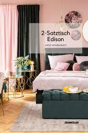2 satztisch edison schlafzimmer haus haus deko