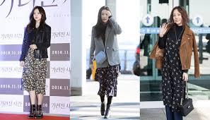 Korean Fashion Kpop Floral Dress Patterns