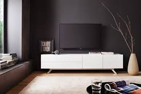 Modern White TV Stand With Metal Legs Perfect For And Minimalistic Living Room Decors