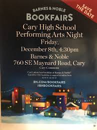 CHS Performing Arts Book Fair Night