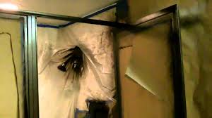 Bathtub Doors Oil Rubbed Bronze by Painted Shower Frame Youtube