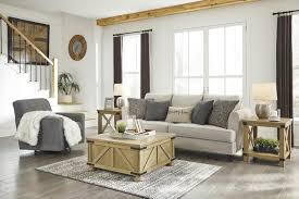 100 2 Sofa Living Room Alcona Beige And Swivel Chair Set By Ashley Furniture At Sam Levitz Furniture