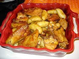 cuisiner poulet au four recette de poulet au four à portugaise