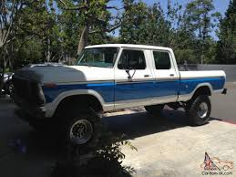 1978 Ford F 250 4x4, Crew Cab, Short Box