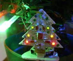 The Mini Animated LED Christmas Tree Is Small 32 X PCB With 8 Flash You Will Do In Order Want Use Arduino Software And Core13