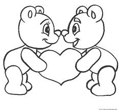 Free Printable I Love You Coloring Sheets For Boy And GirlsFree