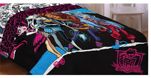 monster high bed comforter ghouls rule bedding contemporary