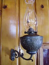 Antique Kerosene Lanterns Value by Vintage Antique Nickel Plated Rayo Kerosene Lamp With Glass