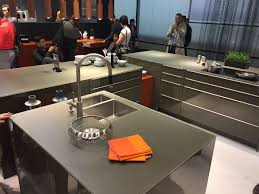View In Gallery Array Of Ergonomic Kitchen Designs From Leicht At Salone Del Mobile 2016