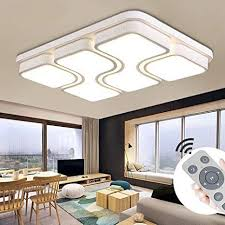 myhoo 78w modern design led deckenle dimmbar mit