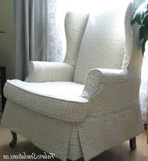 Grey Wingback Chair Slipcovers by Accessories Wing Back Chair Covers With Nice Wing Chair