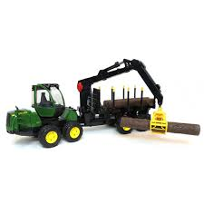 100 John Deere Toy Trucks 116th 1210E Log Forwarder W Logs By Bruder