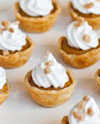 Pumpkin Pie Sweetened Condensed Milk by Pumpkin Pie Tartlets With Meringue Frosting Tatyanas Everyday Food