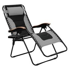 PHI VILLA Oversize XL Padded Zero Gravity Lounge Chair Wider Armrest  Adjustable Recliner With Cup Holder, Support 350 LBS, Grey Outsunny Folding Zero Gravity Rocking Lounge Chair With Cup Holder Tray Black 21 Best Beach Chairs 2019 The Strategist New York Magazine Selecting The Deck Boating Hiback Steel Bpack By Rio Sea Fniture Marine Hdware Double Wide Helm Personalised Printed Branded Uk Extrawide Mesh Chairs Foldable Alinum Sports Green Caravan Blue Xl Suspension Patio Titanic J And R Guram Choice Products 2person Holders Tan