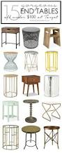 Big Lots End Table Lamps by Best 10 Decorating End Tables Ideas On Pinterest Foyer Table