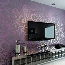 3d abstrakt wohnzimmer tapeten luxus vliestapete fernseher hintergrund geprägte mustertapete hanmero vergolden wandbild rolle 27 6 330 7 h lila